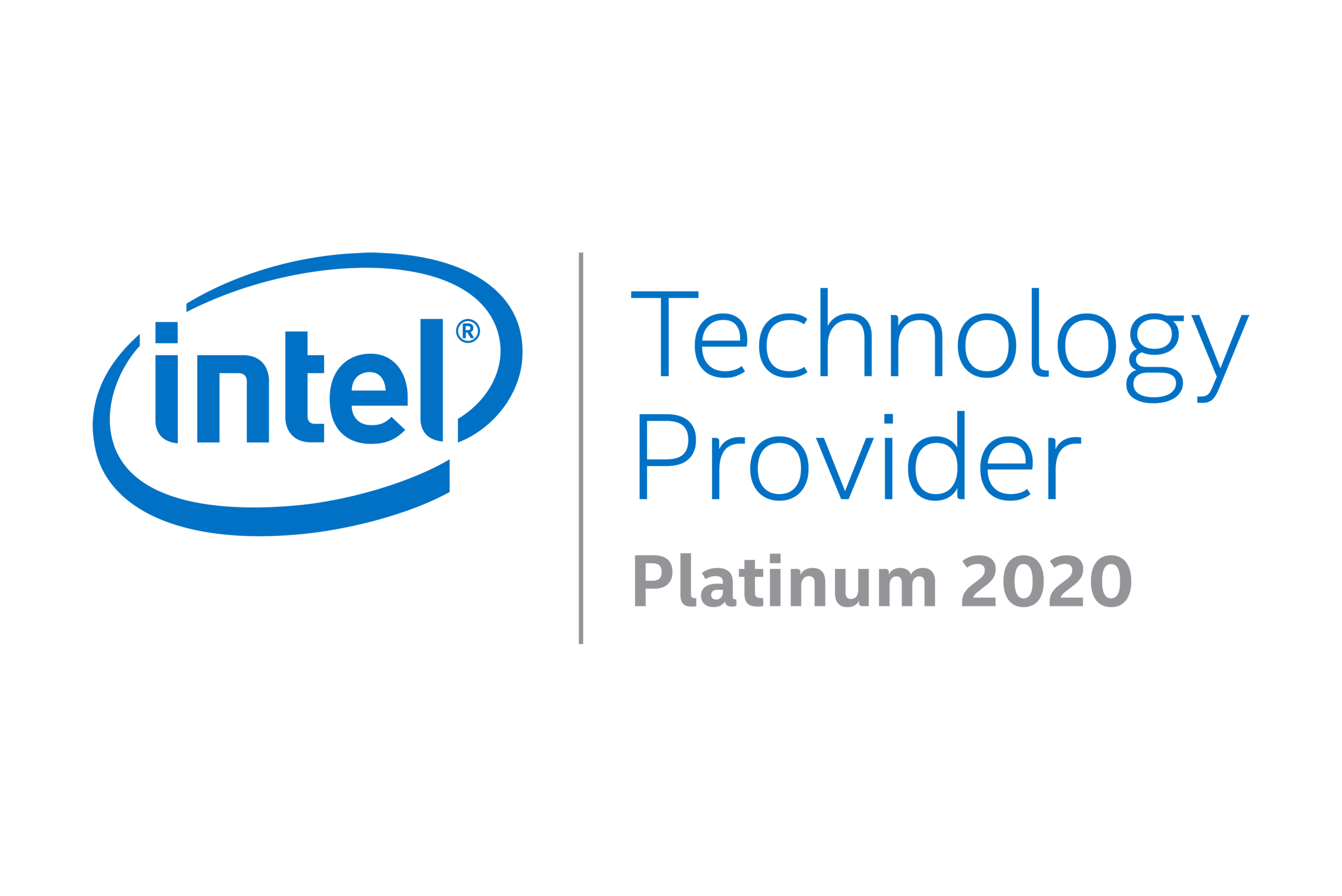 Intel Technology Provider Platinum 2020